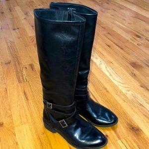 Arizona Jeans Dakota Black Boots with Buckles